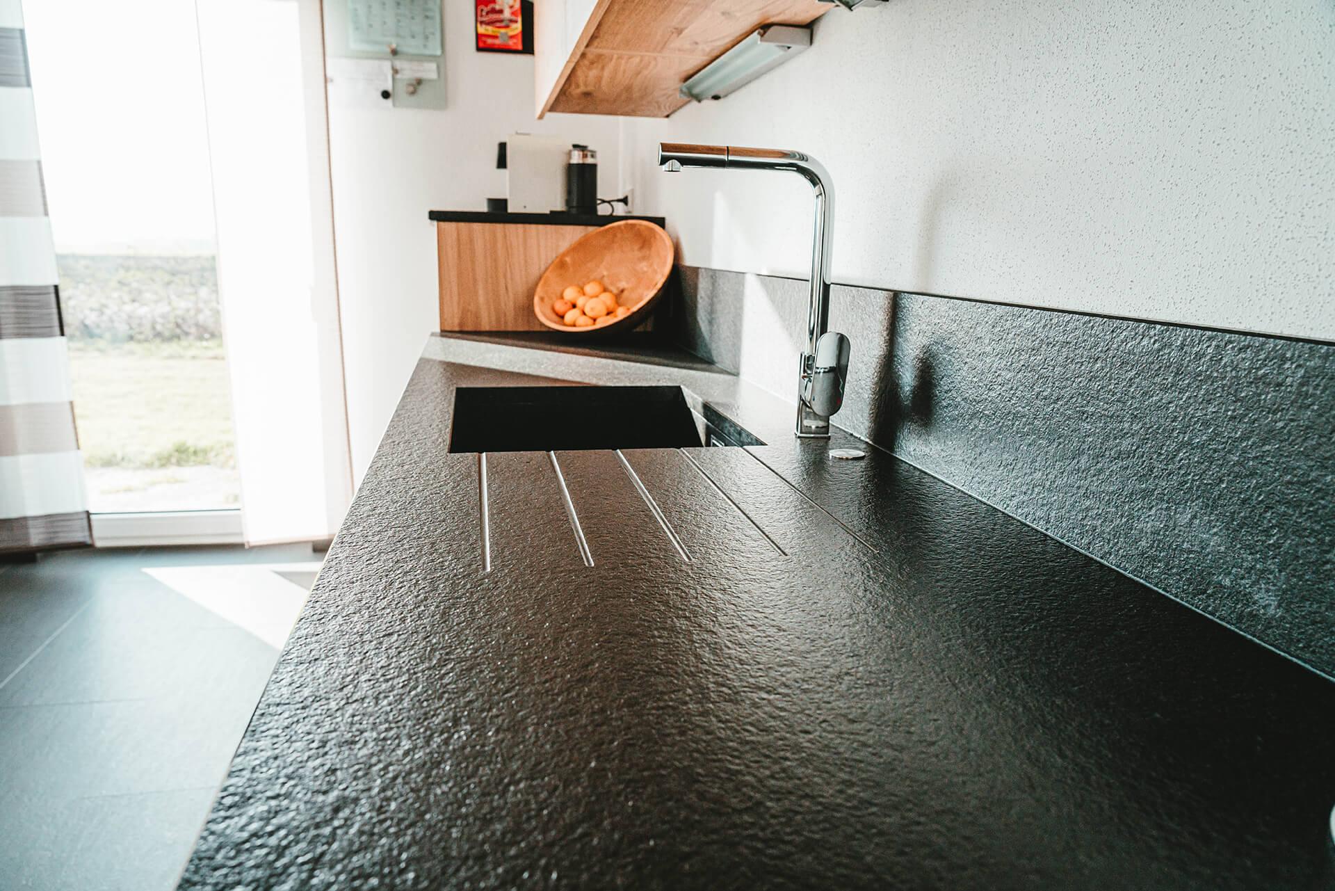 Natursteine Strobel - Küchenplatte