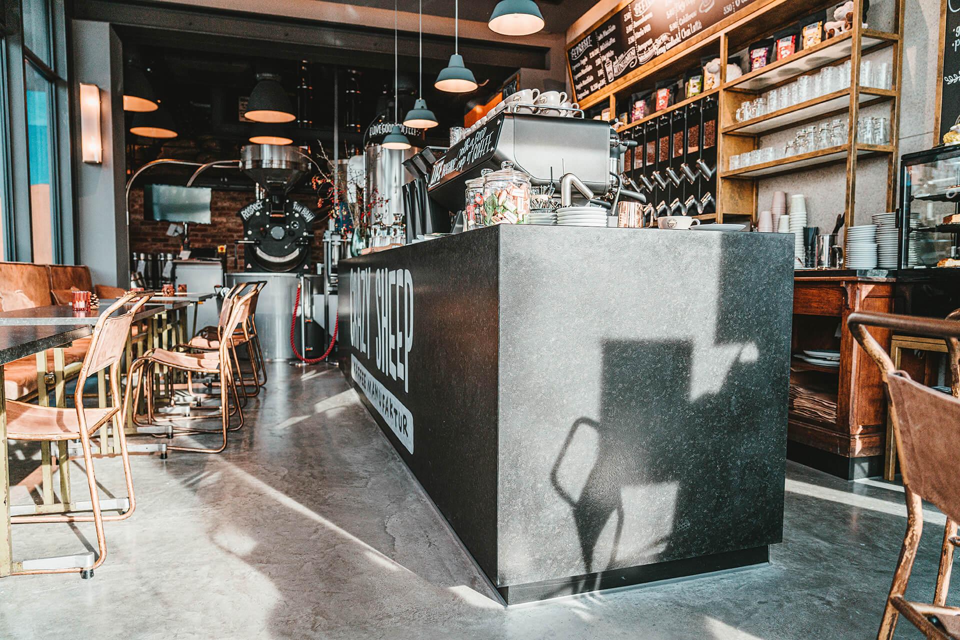 Natursteine Strobel - Crazy Sheep Kaffemanufaktur