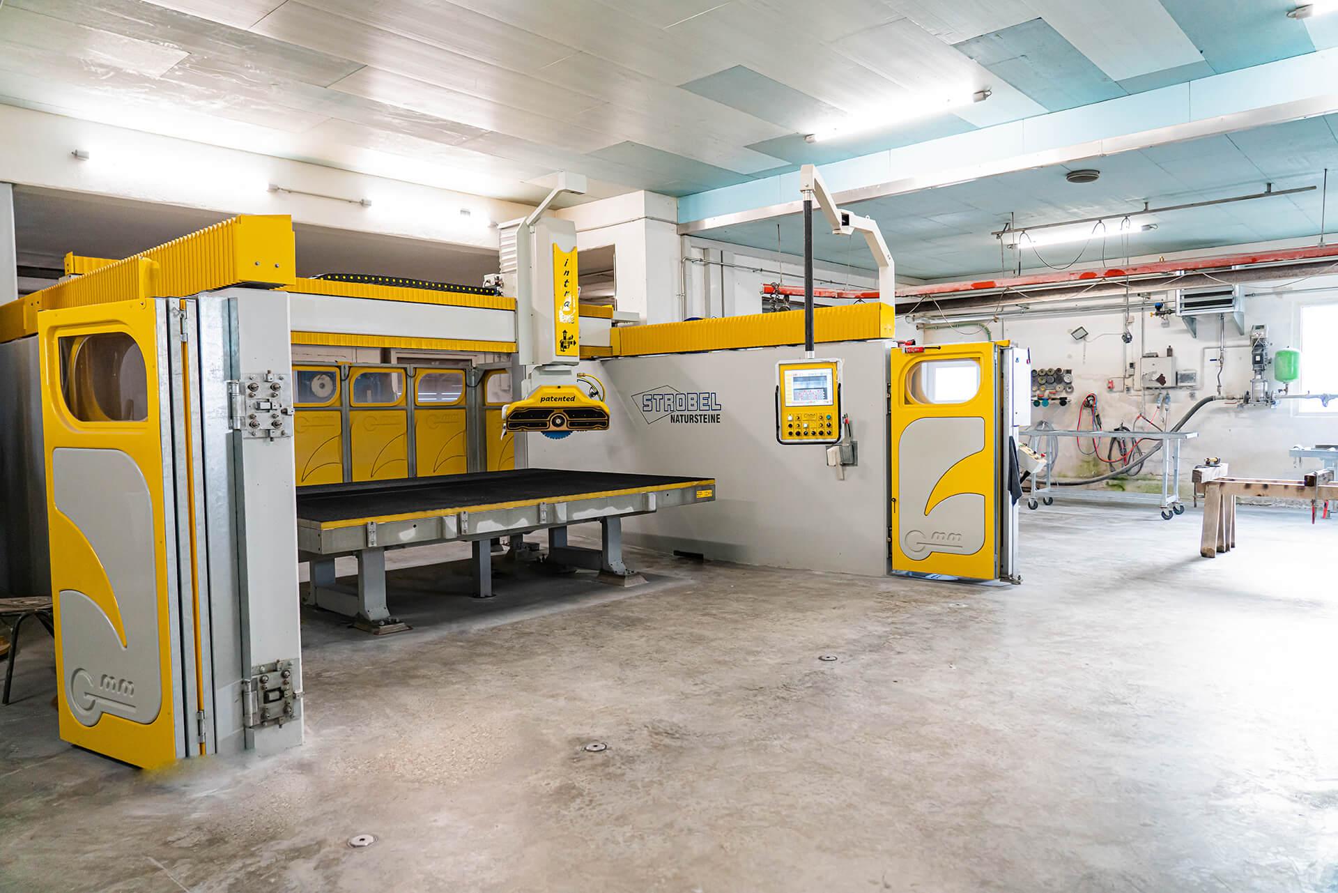 Natursteine Strobel - CNC-Maschine