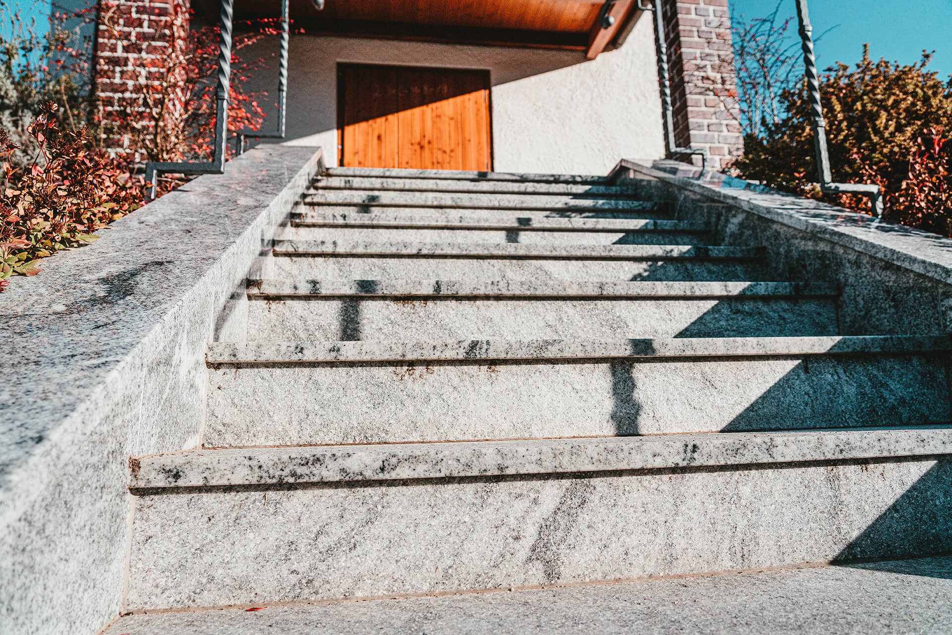 Natursteine Strobel - Außentreppe