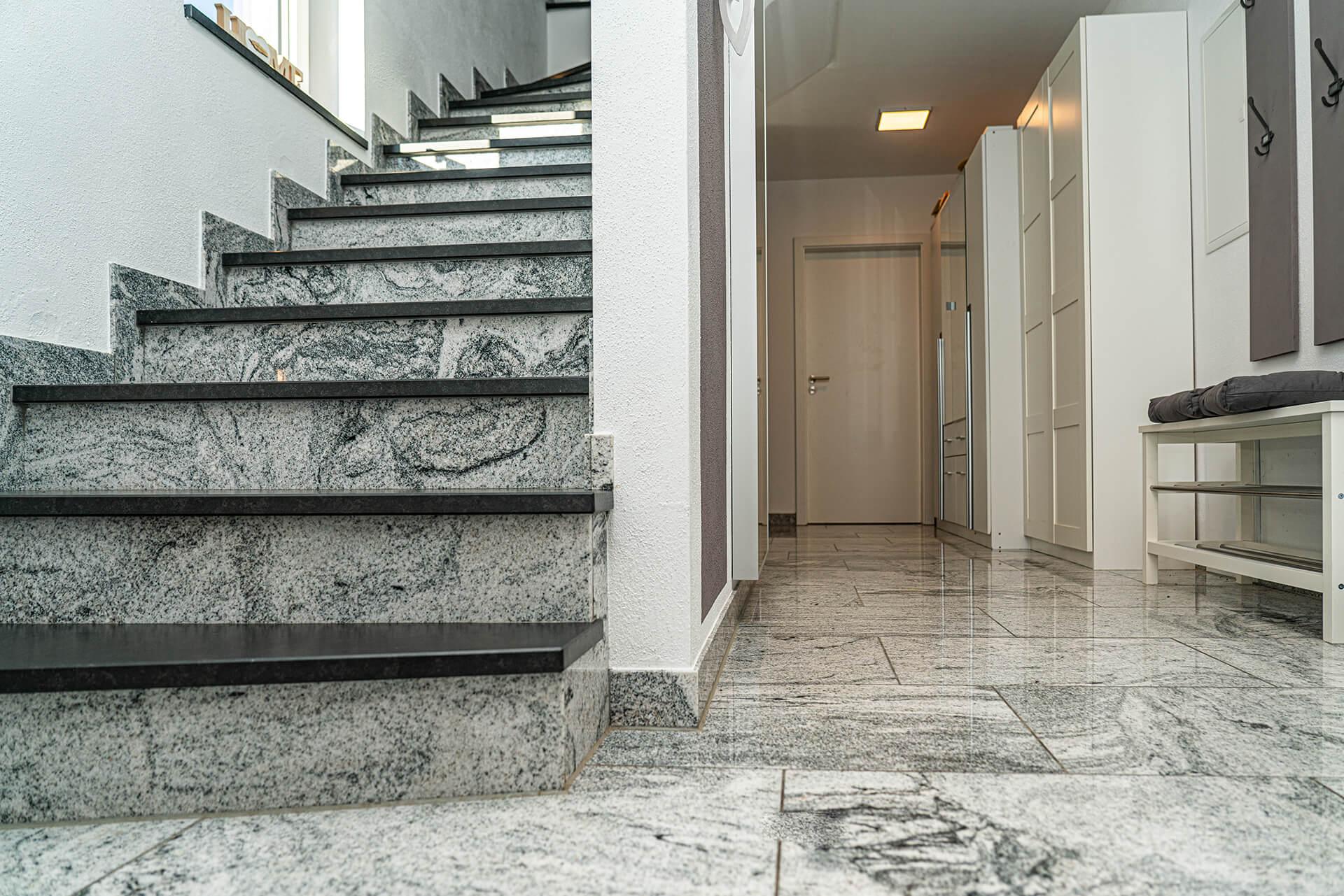 Natursteine Strobel - Treppe