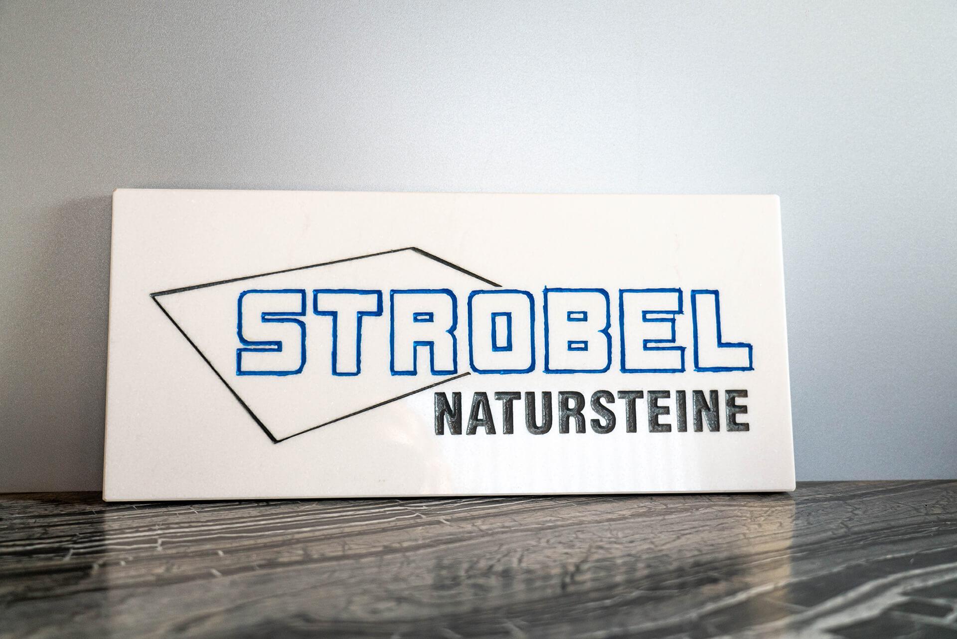 Natursteine Strobel - Logo